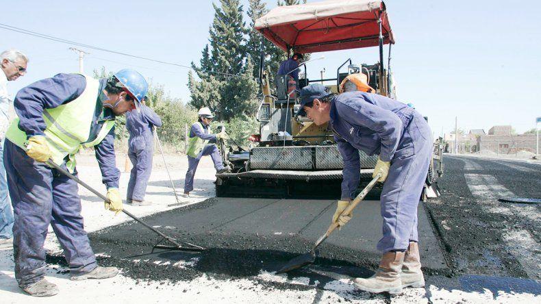 Se asfaltaron 200 cuadras en ocho años