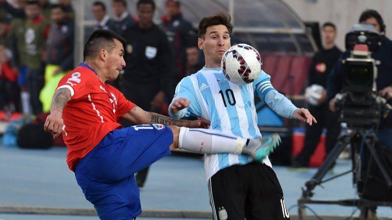 Pa Chile me voy con Messi por la ansiada revancha