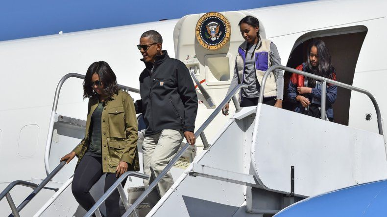 Obama recorrió Bariloche y navegó en el Nahuel Huapi