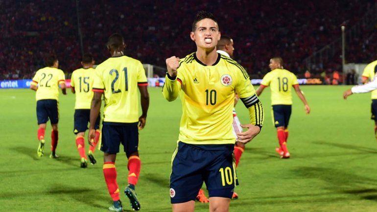Colombia superó la altura y le ganó a Bolivia por 3 a 2