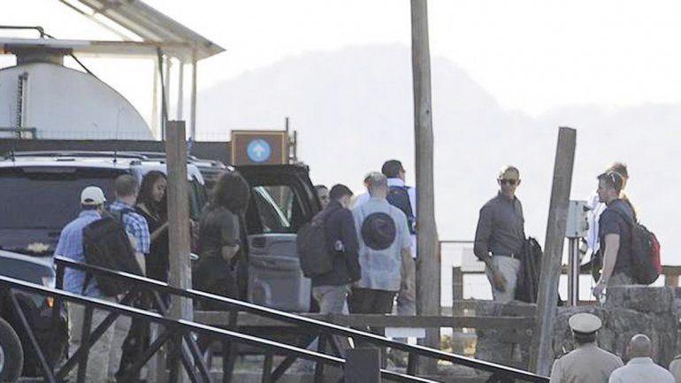 Obama y su familia descansaron en la ciudad cordillerana. Macri también viajó hasta el lugar para despedir al mandatario norteamericano.