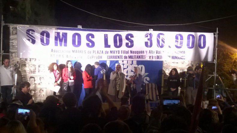 Marcha en las calles de Neuquén a 40 años del golpe: Somos 30 mil y muchos más