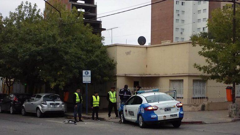 Ni la Policía se salvó: dos patrulleros accidentados