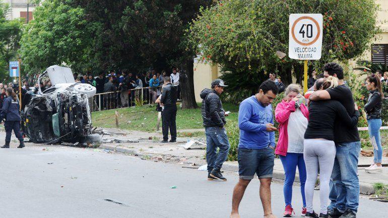 Los vecinos de la localidad bonaerense mostraron su indignación.