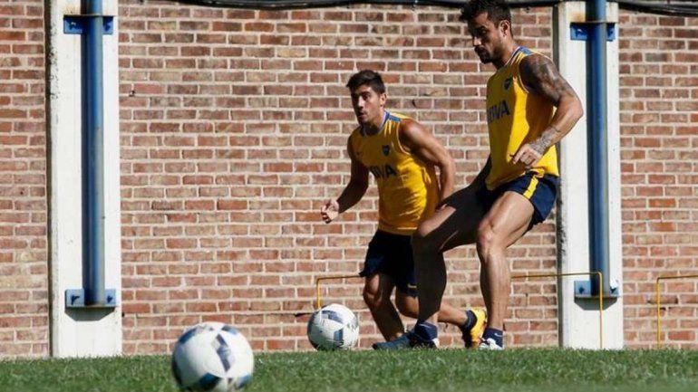 El Loco hizo fútbol con normalidad y podrá estar en el regreso.