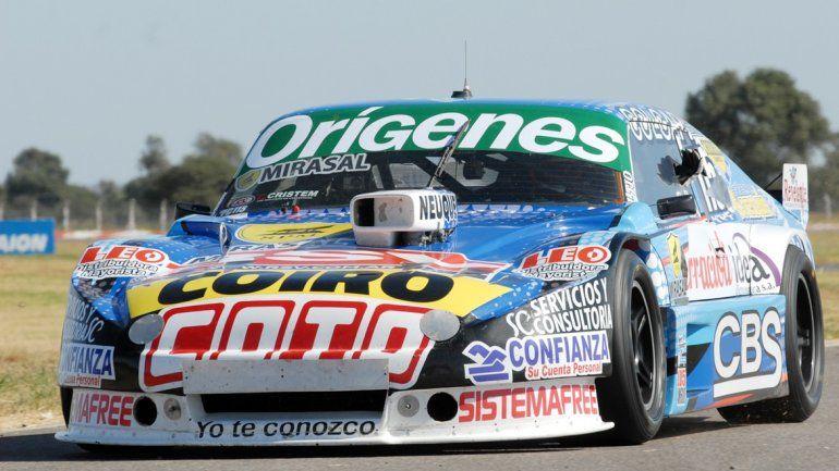 El auto de Echevarría.