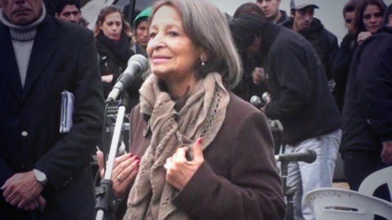 Falleció Mary Sánchez, histórica dirigente docente