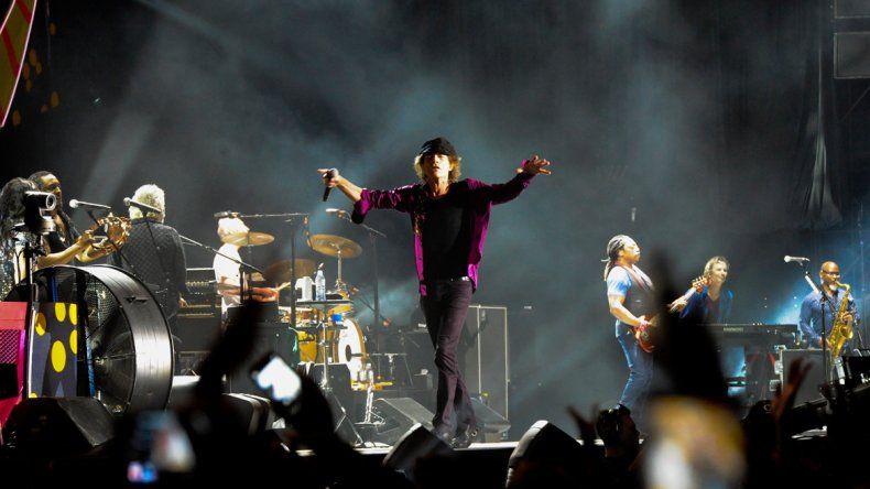 Jagger con cambio de vestuario.