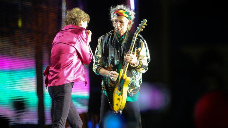 Jagger y Richards.