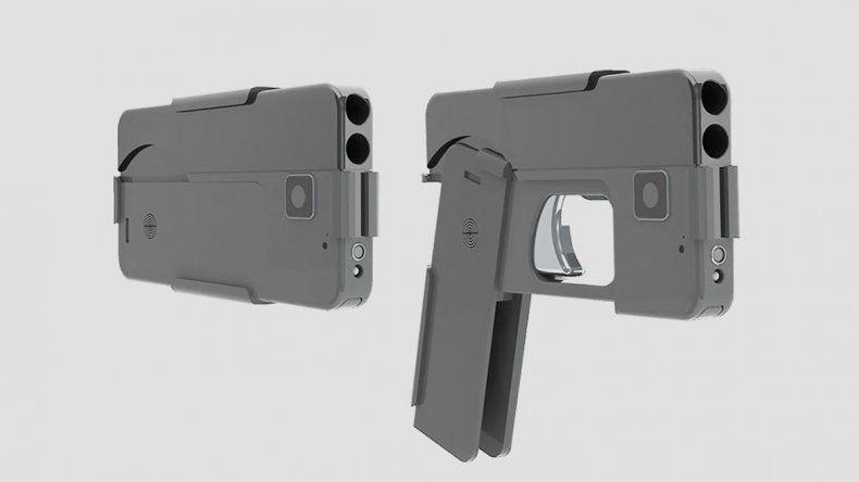 La pistola smartphone cuesta apenas 395 dólares.