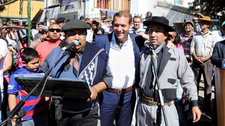 Gutiérrez participó de la Fiesta Nacional del Pehuén en Aluminé.