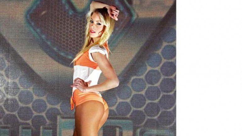 La rubia ya tuvo su aparición en la tevé en el Bailando.