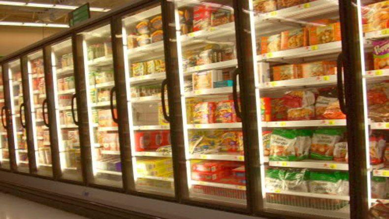 Los argentinos compran cada vez más alimentos congelados