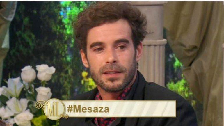 Nicolás Cabré llevó emoción a la mesa de Mirtha Legrand.
