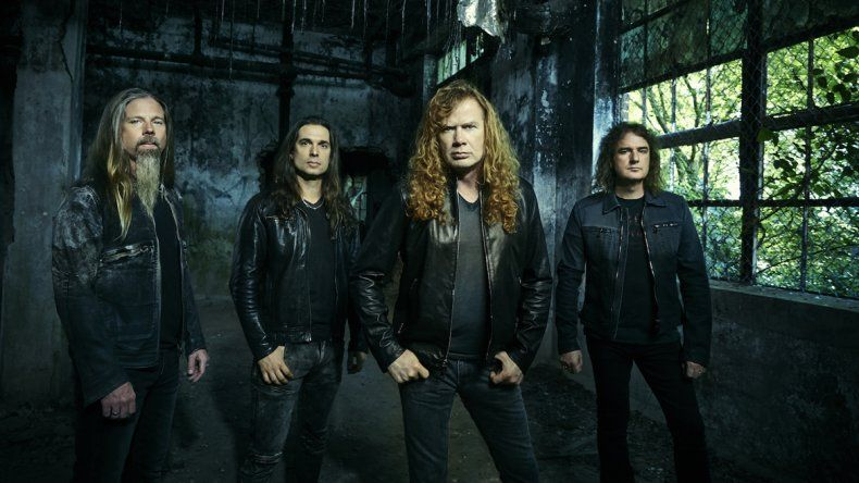 El cantante de Megadeth confirmó que tocarán en Neuquén
