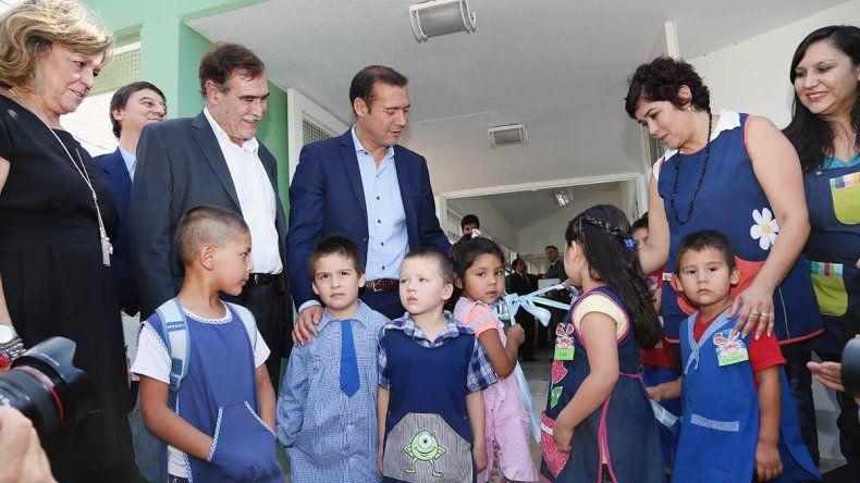 Inauguraron un nuevo jardín de infantes en Centenario