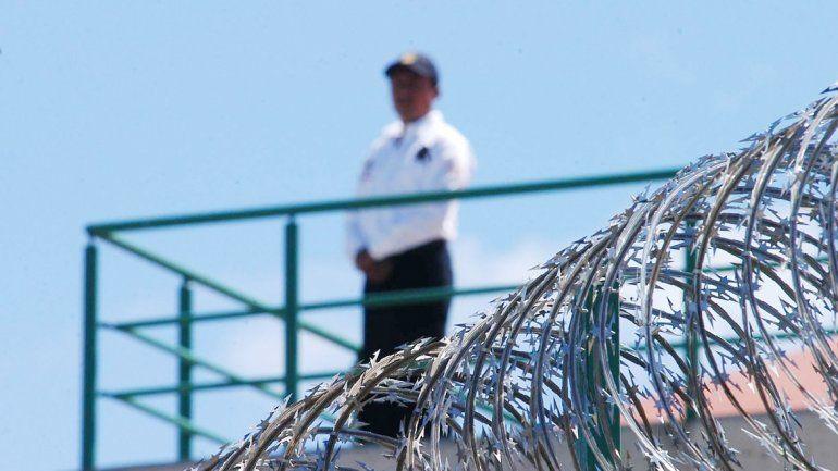 Los presos caminaron por las cloacas hasta llegar a una fosa