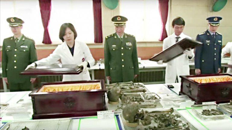 Los soldados habían participado de la guerra entre 1950 y 1953.