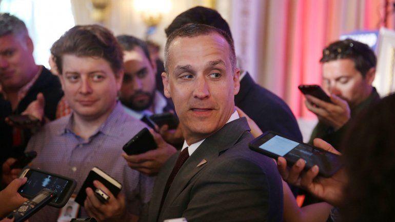 Corey Lewandowski fue puesto en libertad