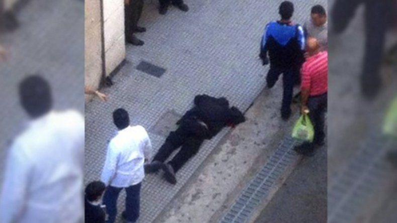 El tirador dice que no vio al cerrajero tirado en el piso