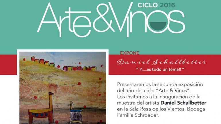 Nuevo ciclo de Arte & Vinos en Bodega Familia Schroeder