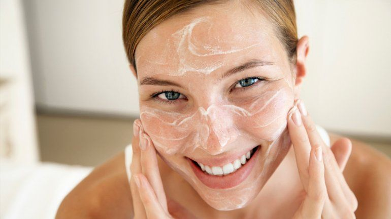 Azucar para lavar la cara