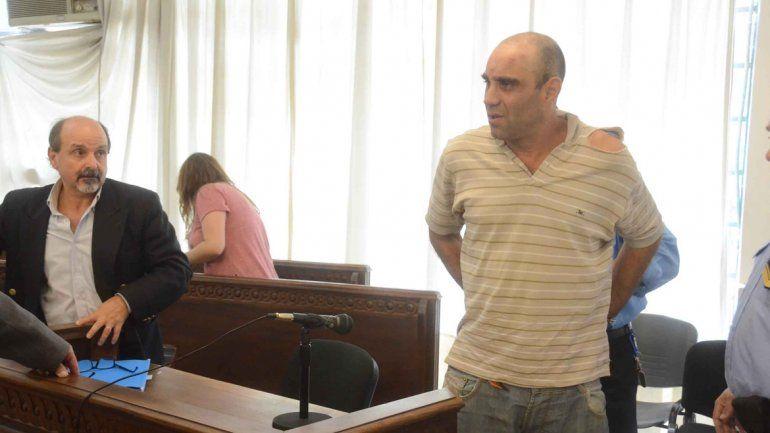 Perdiguera volvió a la cárcel después de escuchar los cargos en su contra.