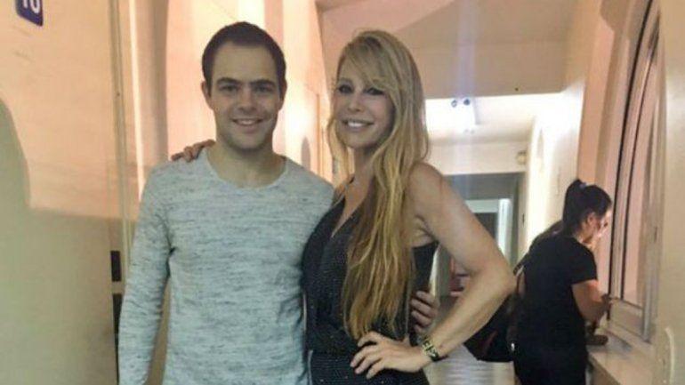Graciela Alfano y Peter Lanzani.