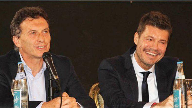 Macri y Tinelli hablaron de llamar alicitación por las transmisiones.