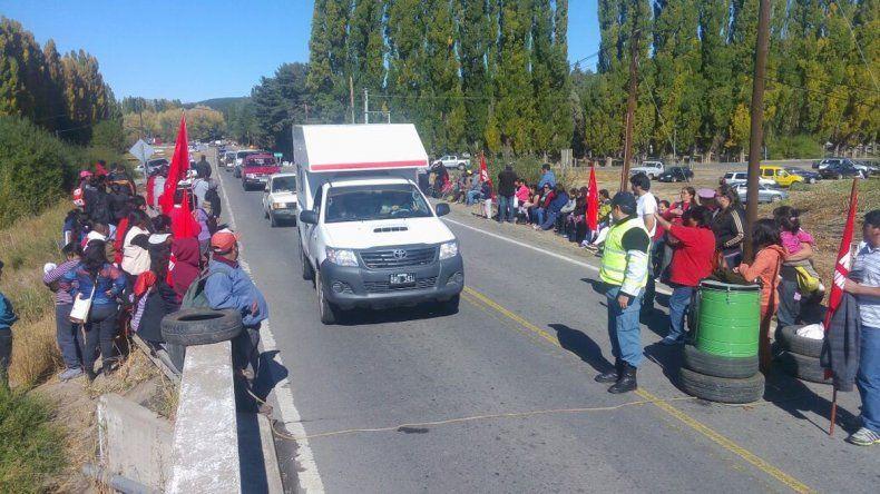 El MTD cortó la ruta en Junín de los Andes.