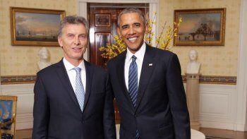 Obama visitará a Macri en Olivos y dará una conferencia