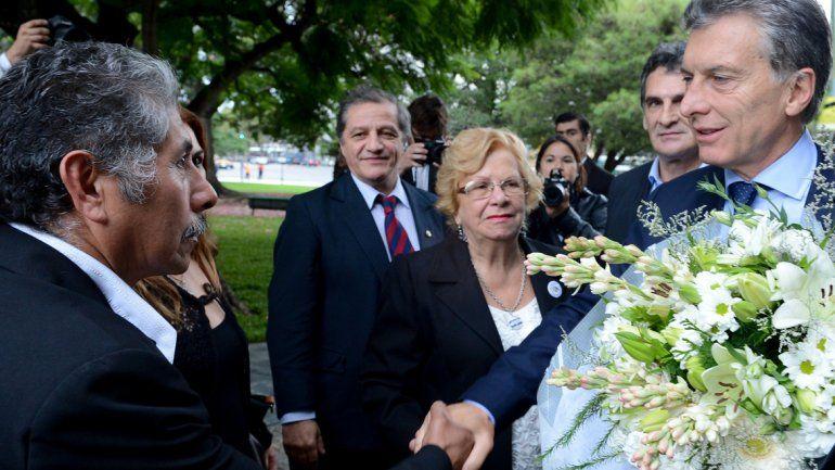 Macri participó del homenaje a los caídos en Malvinas