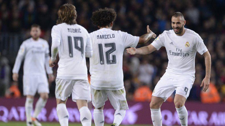 Benzema empató el encuentro y Cristiano Ronaldo selló la victoria.