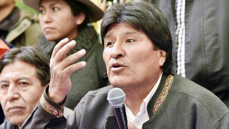 Evo Morales no se lleva bien con la jerarquía de la Iglesia católica.