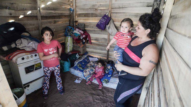 Wanda Guerrero tiene hijos de entre uno y ocho años. Asegura que recibió varias promesas de políticos en campaña