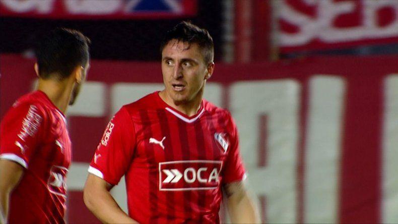 El charrúa Cebolla Rodríguez será titular en Independiente.
