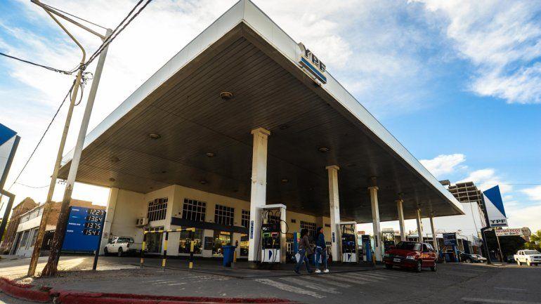 Una de las que ya padeció el accionar de los ladrones es la estación de San Martín y Jujuy