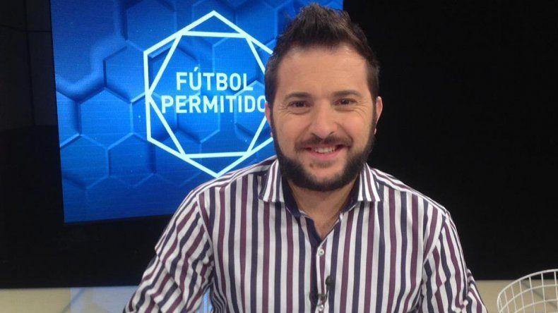 El periodista contó que teme perder su lugar en Fútbol para todos.