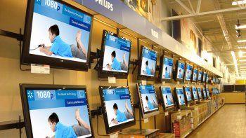 Los televisores y los celulares fueron lo más vendido del primer día del Hot Sale