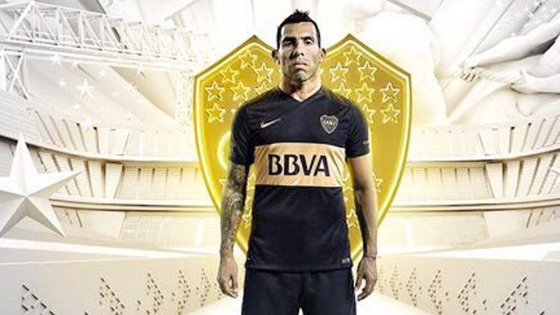 Negra y dorada: la nueva camiseta que vestirá Boca Juniors