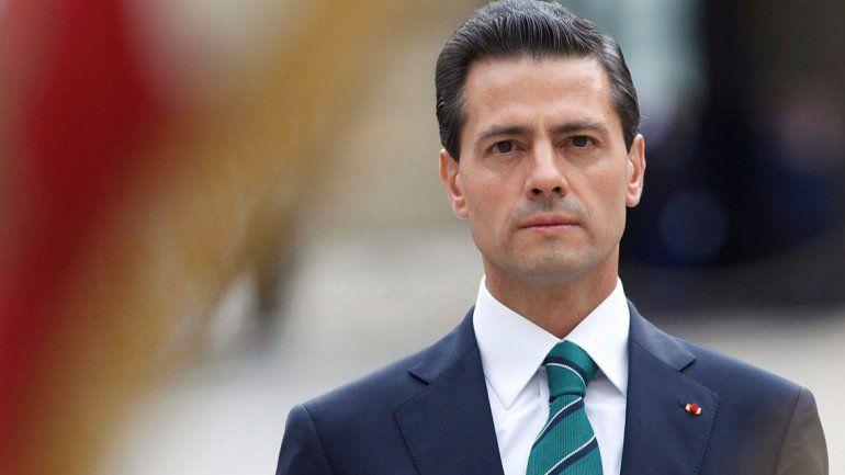 Una empresa que trabaja para el gobierno de México compromete a Enrique Peña Nieto.