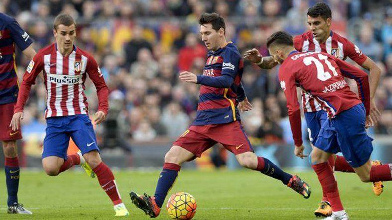 El Barcelona lo dio vuelta y le ganó 2 a 1 al Atlético de Simeone
