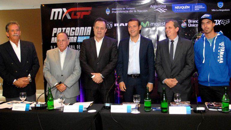 De la presentación participaron el gobernador Omar Gutiérrez