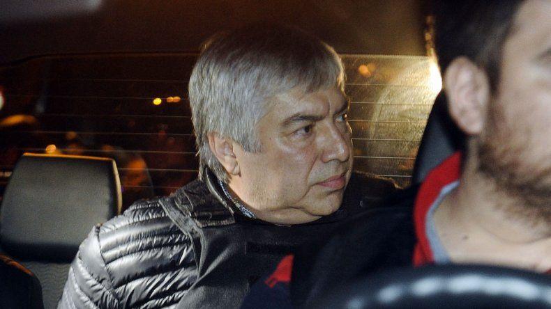 Por orden del juez Casanello, detuvieron a Lázaro Báez