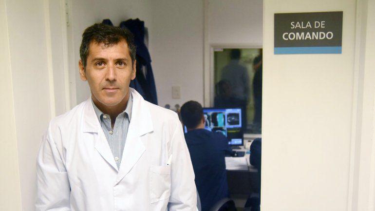 Cristian M. Daher está al frente de la sociedad que nuclea a profesionales certificados de todo el valle.
