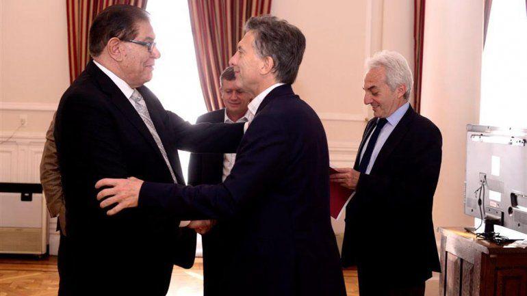En medio de la crisis petrolera, Pereyra se reunió con Macri
