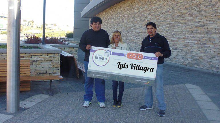 Con LMN, Luis de Cutral Co ya tiene sus 7 mil pesos para gastar en el shopping