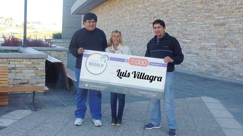 Con LMN, Luis, de Cutral Co, ya tiene sus 7 mil pesos para gastar en el shopping
