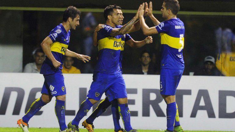 Boca le ganó 3 a 1 a Bolívarcon goles de Gago, Tevez y Carrizo