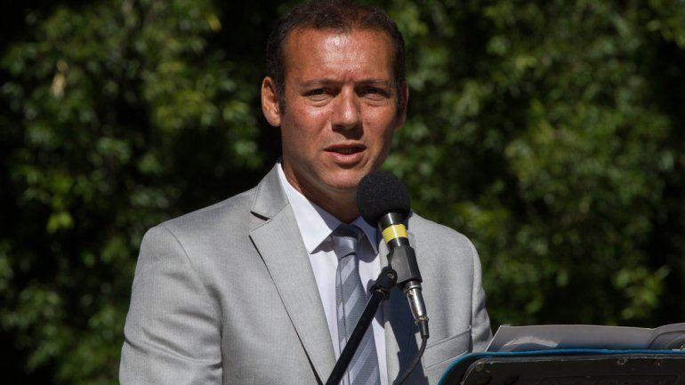 El gobernador estuvo ayer por la tarde en un acto en Caviahue. Algunas horas antes había confirmado a su director para la empresa nacionalizada.